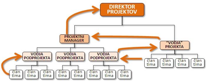 Kariera managerjev oz. vodij projektov